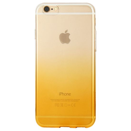 Haweel Gradient TPU Backcover für iPhone 6(s) Plus - Orange