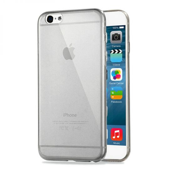 Haweel Zero TPU Backcover für iPhone 6(s) - Schwarz