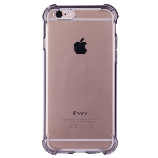 Mobigear Cushion TPU Backcover für iPhone 6(s) - Schwarz