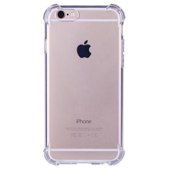 Mobigear Cushion TPU Backcover für iPhone 6(s) - Transparent