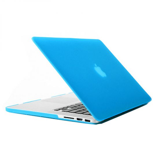 Mobigear Matte Case für MacBook Pro 15 Zoll - Blau