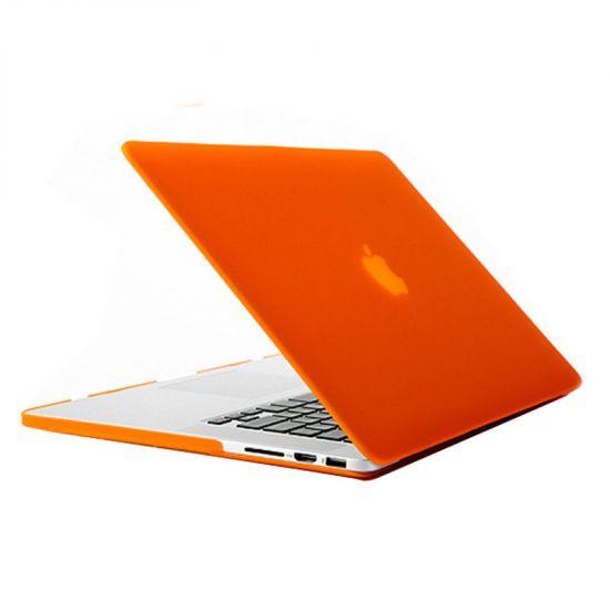 Mobigear Matte Case für MacBook Pro 15 Zoll A1398 - Orange