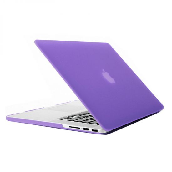 Mobigear Matte Case für MacBook Pro 15 Zoll A1398 - Lila