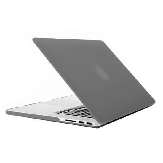 Mobigear Matte Case für MacBook Pro 15 Zoll A1398 - Grau