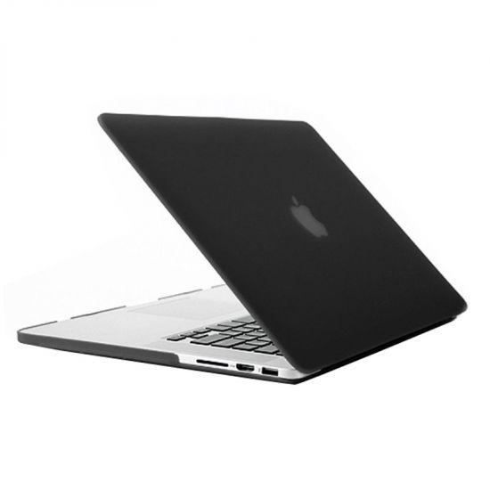 Mobigear Matte Case für MacBook Pro 15 Zoll - Schwarz