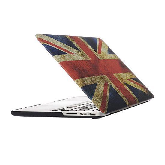 Mobigear Design Case für MacBook Pro 13 Zoll - Vintage UK-Flagge