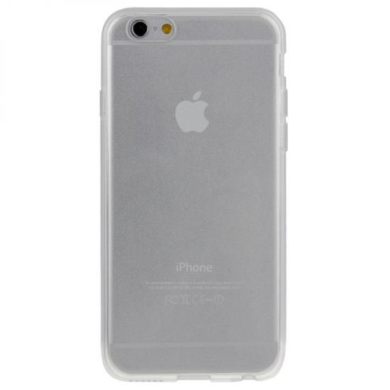 Mobigear Clear TPU Backcover für iPhone 6(s) - Transparent