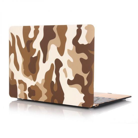 Mobigear Camouflage Case für MacBook 12 Zoll A1534 - Braun