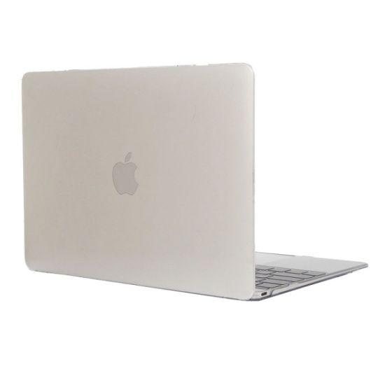 Mobigear Metallic Case für MacBook 12 Zoll - Transparent