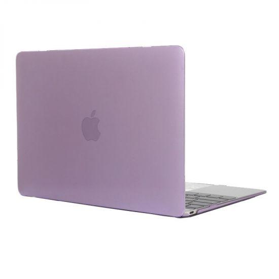 Mobigear Glossy Case für MacBook 12 Zoll A1534 - Lila