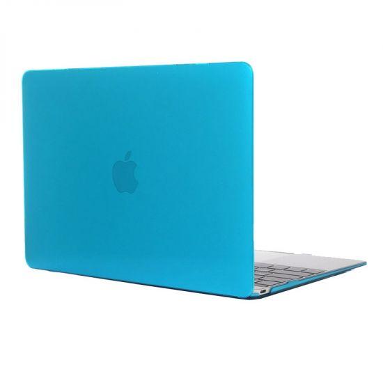 Mobigear Glossy Case für MacBook 12 Zoll A1534 - Blau