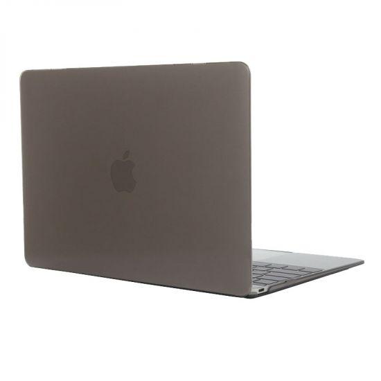 Mobigear Glossy Case für MacBook 12 Zoll A1534 - Grau