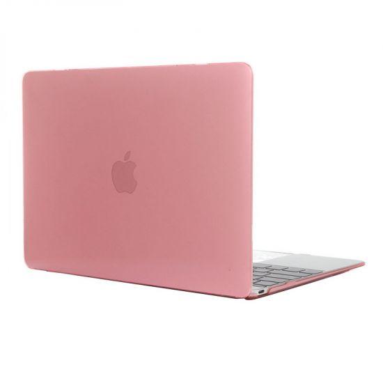 Mobigear Glossy Case für MacBook 12 Zoll A1534 - Pink