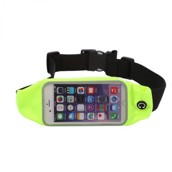 Mobigear Neopren Sportarmband für iPhone 6(s) - Grün