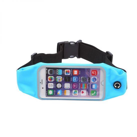 Mobigear Neopren Sportarmband für iPhone 6(s) - Blau