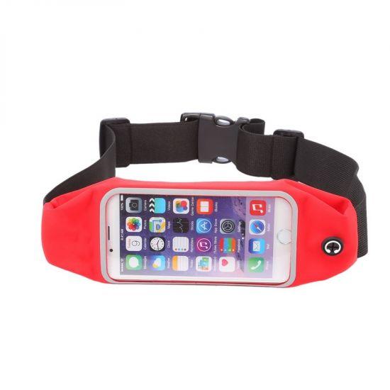 Mobigear Neopren Sportarmband für iPhone 6(s) - Rot
