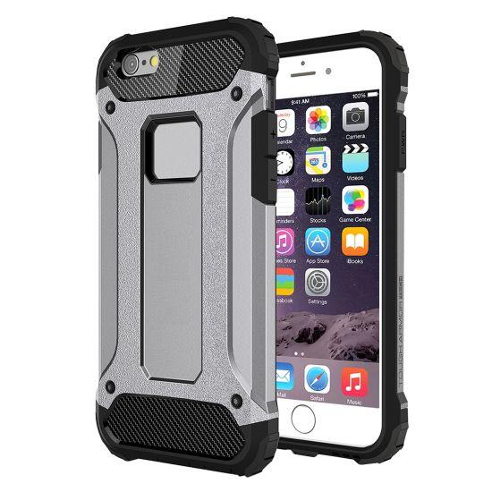 Mobigear Outdoor Hardcase Backcover für iPhone 6(s) Plus - Grau