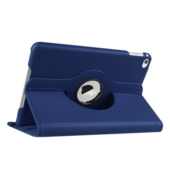 Mobigear 360 Rotating Klapphülle für iPad Mini 4 (2015) - Dunkelblau