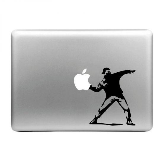 Mobigear Design Sticker für Apple MacBook Air / Pro (2008-2015) - Throw Apple