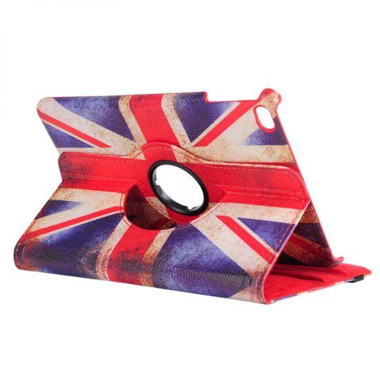 Mobigear 360 Rotating Klapphülle für iPad Mini 4 (2015) - Vintage UK-Flagge