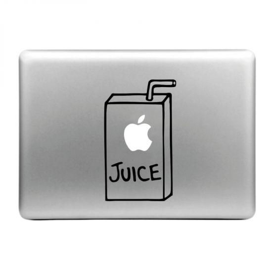 Mobigear Design Sticker für Apple MacBook Air / Pro (2008-2015) - Apfelsaft