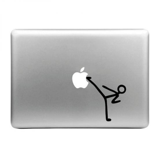 Mobigear Design Sticker für Apple MacBook Air / Pro (2008-2015) - Karate