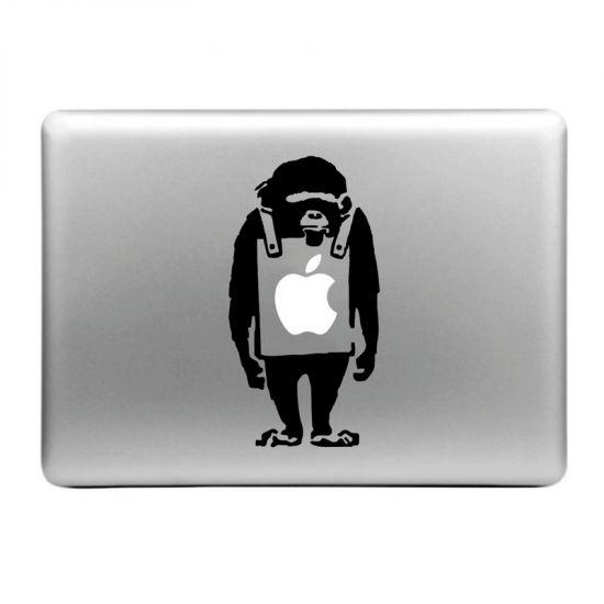 Mobigear Design Sticker für Apple MacBook Air / Pro (2008-2015) - Affe