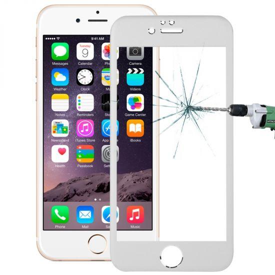 Mobigear Panzerglas Displayschutz für iPhone 6(s) - Silber