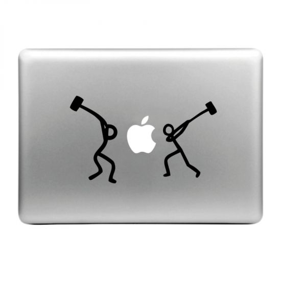 Mobigear Design Sticker für Apple MacBook Air / Pro (2008-2015) - Hammer