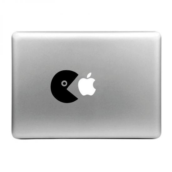 Mobigear Design Sticker für Apple MacBook Air / Pro (2008-2015) - Eat Apple
