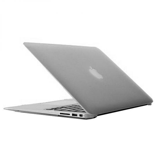 Mobigear Matte Case für MacBook Air 13 Zoll - Transparent