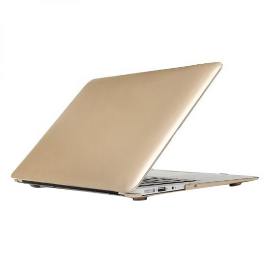 Mobigear Metallic Case für MacBook Air 11 Zoll A1370 / A1465 - Gold