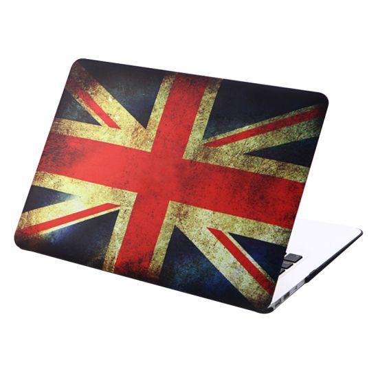 Mobigear Design Case für MacBook Air 11 Zoll - Vintage UK-Flagge