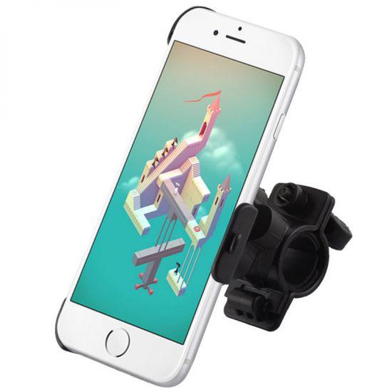 Mobigear Basic Fahrradhalterung für Apple iPhone 6(s) - Schwarz