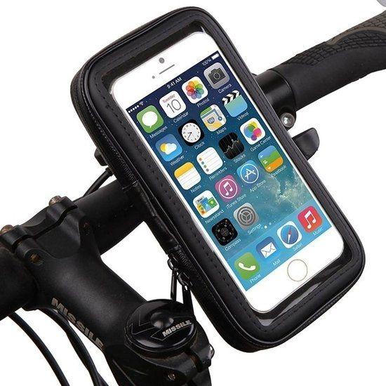 Mobigear Bike Console Fahrradhalterung für Apple iPhone SE (2020) / 8 / 7 / 6(s) - Schwarz