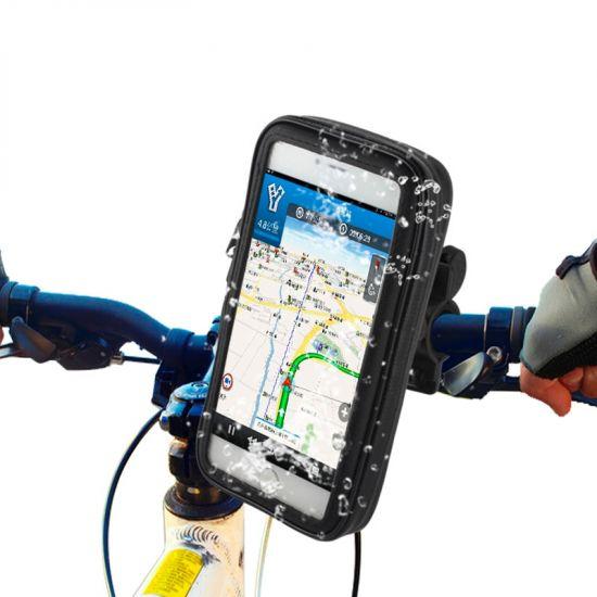 Mobigear Bike Console Fahrradhalterung für Apple iPhone 8 Plus / 7 Plus / 6(s) Plus - Schwarz