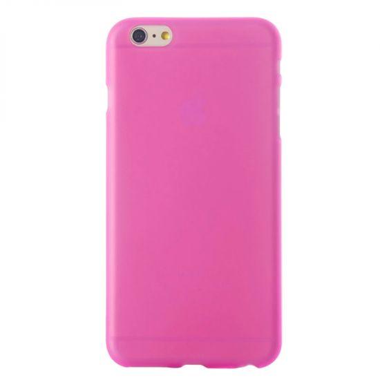 Mobigear Color TPU Backcover für iPhone 6(s) - Magenta