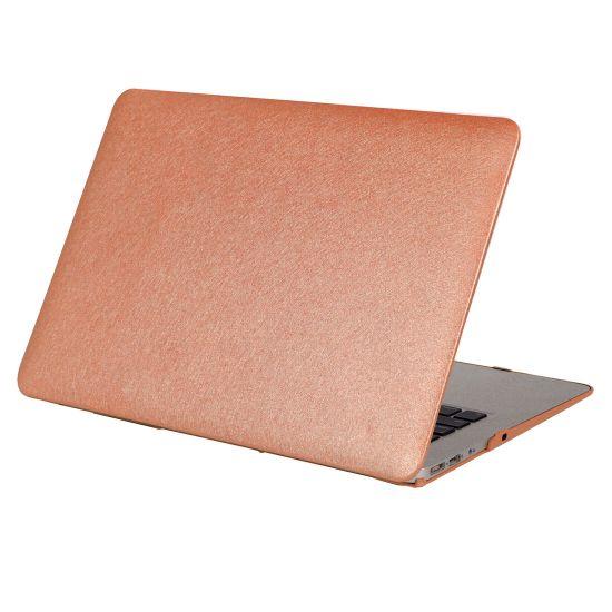 Mobigear Silk Texture Case für MacBook Pro 15 Zoll - Braun