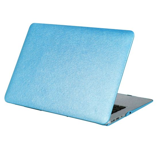 Mobigear Silk Texture Case für MacBook Pro 15 Zoll A1286 - Blau