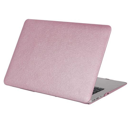 Mobigear Silk Texture Case für MacBook Pro 15 Zoll A1286 - Lila