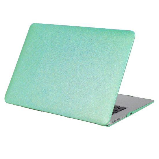 Mobigear Silk Texture Case für MacBook Air 11 Zoll A1370 / A1465 - Grün