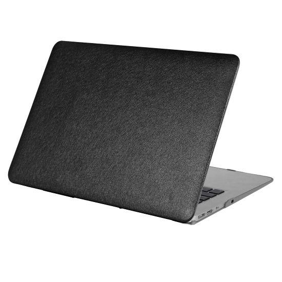 Mobigear Silk Texture Case für MacBook 12 Zoll - Schwarz