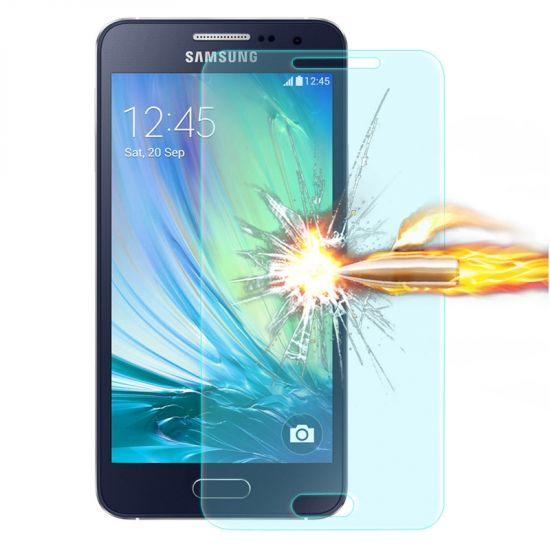 Mobigear Panzerglas Displayschutz für Samsung Galaxy A3