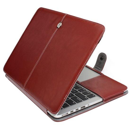 Mobigear Business Case für MacBook Pro 13 Zoll A1425 / A1502 - Braun