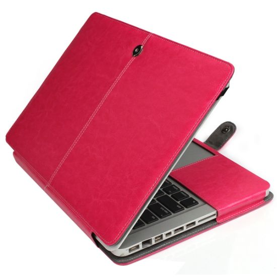 Mobigear Business Case für MacBook Pro 15 Zoll A1286 - Magenta
