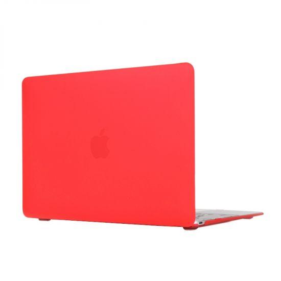 Mobigear Matte Case für MacBook 12 Zoll - Rot