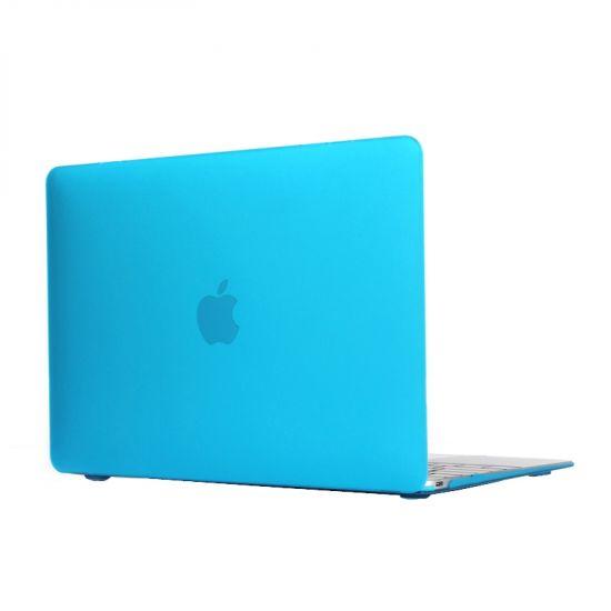 Mobigear Matte Case für MacBook 12 Zoll A1534 - Blau