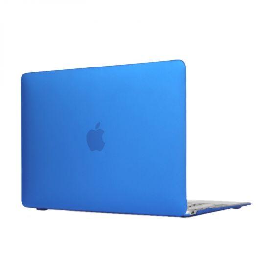 Mobigear Matte Case für MacBook 12 Zoll A1534 - Dunkelblau