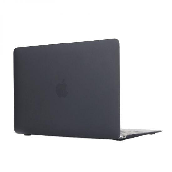 Mobigear Matte Case für MacBook 12 Zoll A1534 - Schwarz