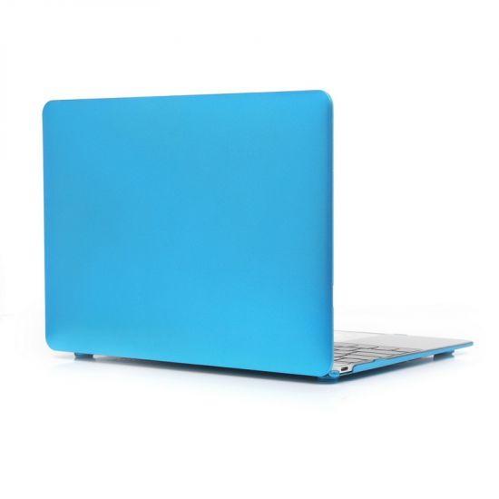 Mobigear Metallic Case für MacBook 12 Zoll - Blau